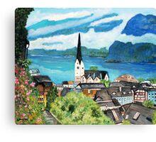Hallstatt,  Austria Canvas Print