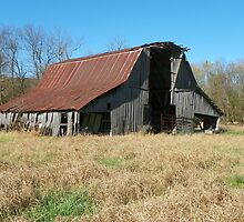 Old Harris Barn, Built 1917 by David  Hughes