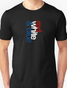 RED, WHITE & BLUE T-Shirt