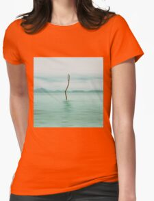 turquoise sea Womens Fitted T-Shirt
