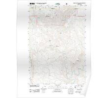 USGS Topo Map Oregon Johnny Cake Mountain 20110812 TM Poster