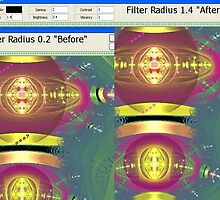 Apo Tut4 Filter Radius effects demo by barrowda