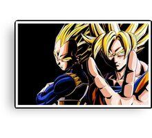 Goku & Vegeta Canvas Print