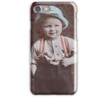 Little boys new shoes iPhone Case/Skin