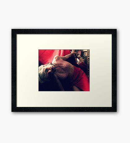 First Runner-Up Framed Print