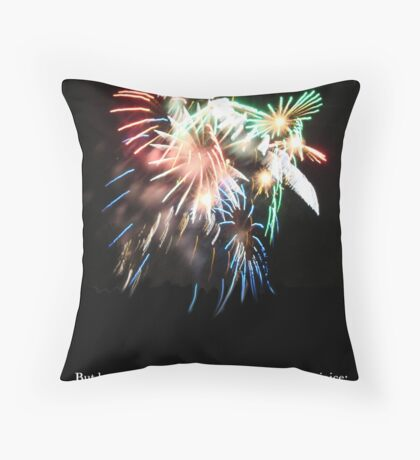Be joyful in Thee Throw Pillow