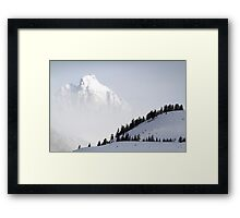 The Grand Teton - Floating Over Hansen Peak Framed Print