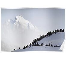 The Grand Teton - Floating Over Hansen Peak Poster