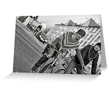 Lets ride Greeting Card