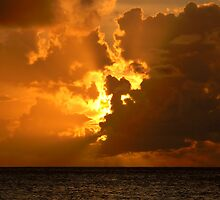Anguilla Sunset by Leon Heyns