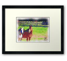 Picture Time Framed Print