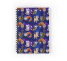 Interplanetary explorers Spiral Notebook