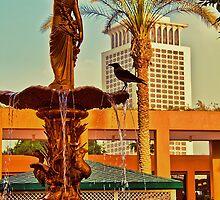 "Egypt. Cairo. Hotel ""Marriott"". In the garden. by vadim19"