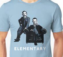 19th Century Sherlock and Watson Unisex T-Shirt