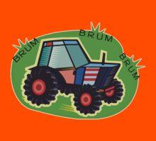 Tractor Time, BRUM BRUM BRUM! Kids Tee