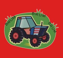 Tractor Time, BRUM BRUM BRUM! Kids Clothes