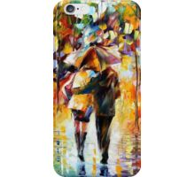 Couple In The Rain Oil Painting Iphone Case iPhone Case/Skin