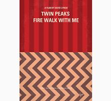 No169 My Fire walk with me minimal movie poster Unisex T-Shirt