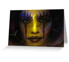 Daughter Of The Dawn Greeting Card