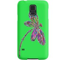 Neon Dragonfly - Lime Samsung Galaxy Case/Skin