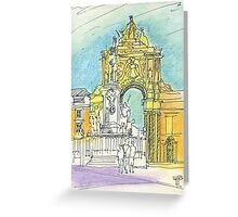 Terreiro do Paço. Greeting Card
