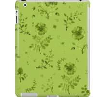 flowers watercolor  iPad Case/Skin