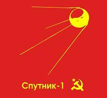 Sputnik-1 Satellite 1957 T-Shirt (dark) Unisex T-Shirt