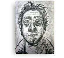60 second self portrait Canvas Print