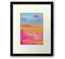 Bubblegum Heaven Framed Print
