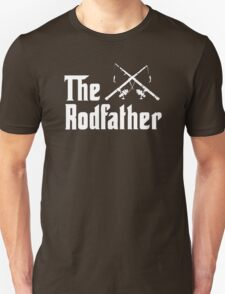 The Rodfather - Mens Funny Fishing  T-Shirt