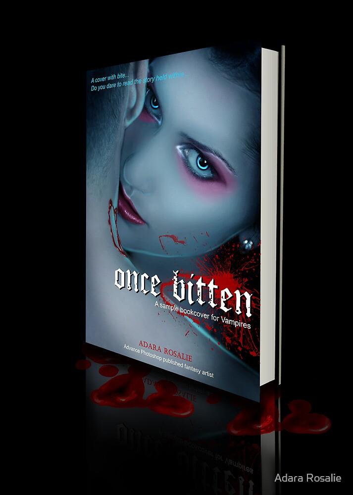 Vampire Novel Book Cover Design by Adara Rosalie