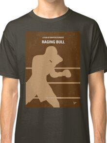 No174 My Raging Bull minimal movie poster Classic T-Shirt