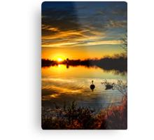 Dreamy Sunset Metal Print