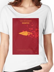 No176 My Wanted minimal movie poster Women's Relaxed Fit T-Shirt