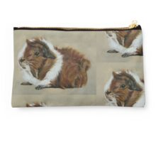 """Lucky"" Gorgeous Guinea Pig Studio Pouch"