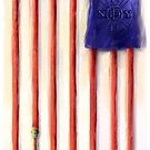 Hoses 9/11 Memorial For CAT (Cartoonists Against Terrorism) by Rick  London