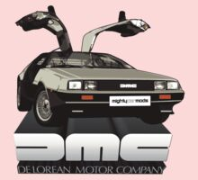 DeLorean Tee Shirt Kids Tee