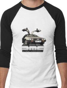 DeLorean Tee Shirt Men's Baseball ¾ T-Shirt
