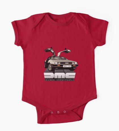 DeLorean Tee Shirt One Piece - Short Sleeve