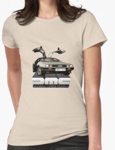 DeLorean Tee Shirt Womens Fitted T-Shirt