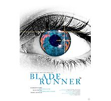 Blade Runner - Movie Poster Photographic Print
