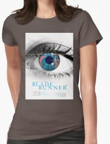 Blade Runner - Movie Poster Womens Fitted T-Shirt