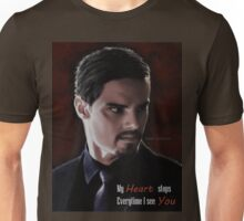 Jay Ryan as Vincent Keller Unisex T-Shirt