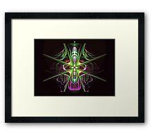 The Cross Over Framed Print