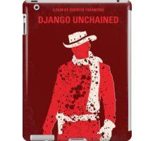 No184 My Django Unchained minimal movie poster iPad Case/Skin