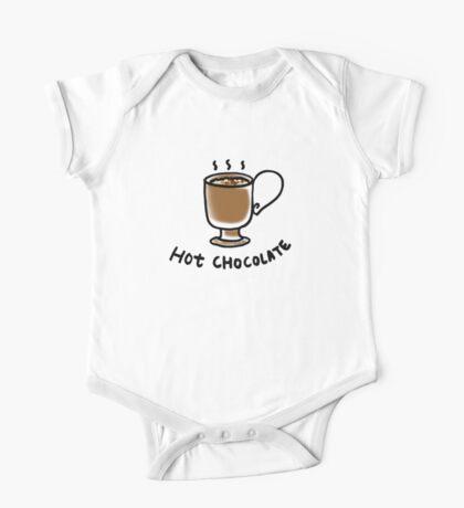 Hot chocolate drink One Piece - Short Sleeve