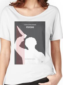 No185 My Psycho minimal movie poster Women's Relaxed Fit T-Shirt