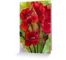 Poppy Glory Greeting Card