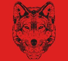 Wolf Black 2 Kids Clothes