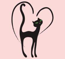 Elegant kittenish CatTee! Kids Clothes